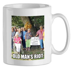 MUG SAVE OUR TREE